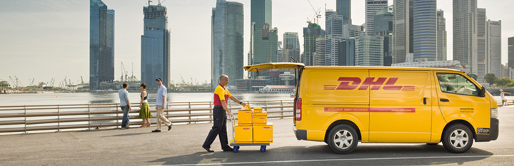 Free next day delivery by DHL